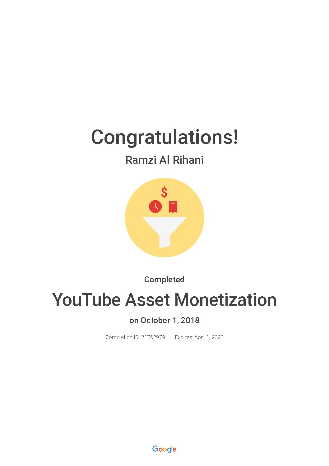 YouTube Asset Monetization_ Google