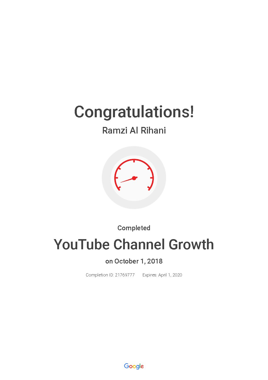 YouTube Channel Growth_ Google